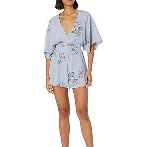 Astr the label | Periwinkle Floral romper NWT* Med